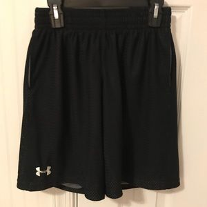 EUC Under Armour Boy's Size Large Athletic Shorts